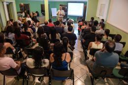 Palestra aos associados e colaboradores