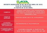 Altinópolis entra na fase de transição a partir de domingo (18), que permitirão o retorno gradual das atividade