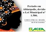 Consciência Negra - 20 de novembro